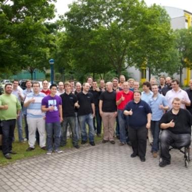 Ein Teil unseres Technik-Teams