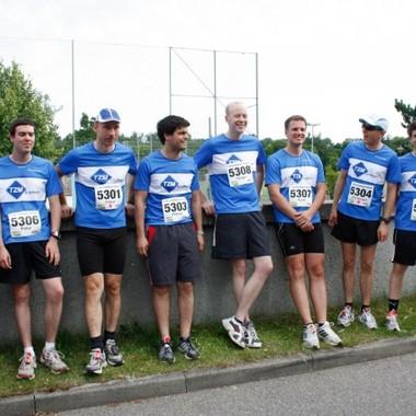Stuttgarter Firmenlauf 2012 unsere Laufgruppe
