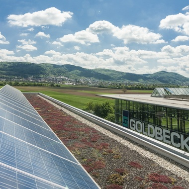 Wir legen Wert auf Energieeffizienz und Innovation