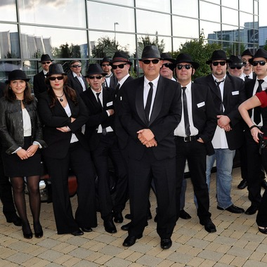 "Sommerfest in Hirschberg unter dem Motto ""Blues Brothers"""