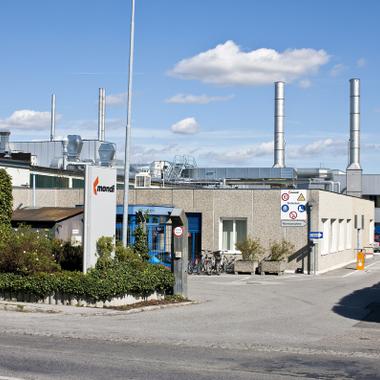 The Consumer Packaging plant in Korneuburg