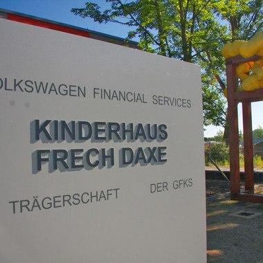 Kindertagesstätte Frech Daxe Außenansicht