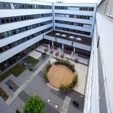Käferweg Innenhof