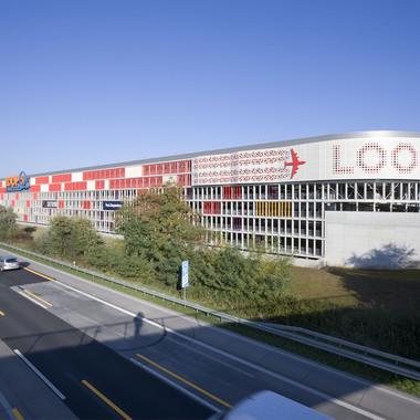 Unser Produkt Parkhaus: Hier LOOP5 an der A5 in Weiterstadt
