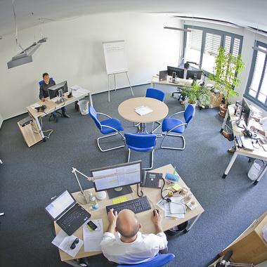 Eines unserer Teambüros