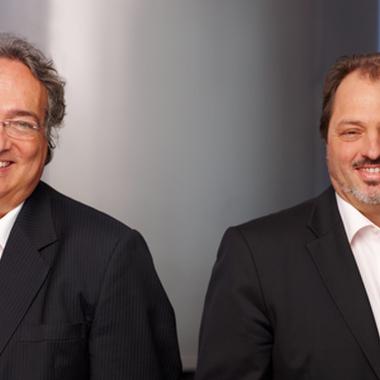 Gebeco Geschäftsführer Ury Steinweg und Thomas Bohlander