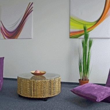 Der Silence Room für Mitarbeiter am Standort Düsseldorf