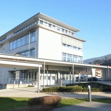 Werksgelände am Standort Waldkirch