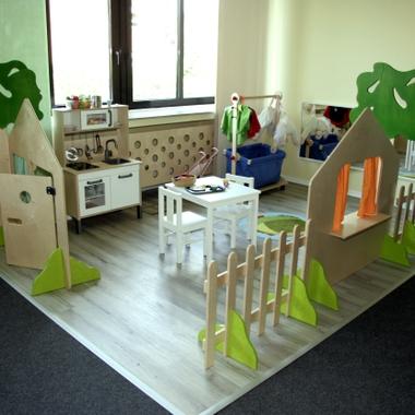 Innenansicht der Kindertagespflege Kleiner Däumeling