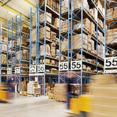 Warehousing gehört zu unserem Kerngeschäft.