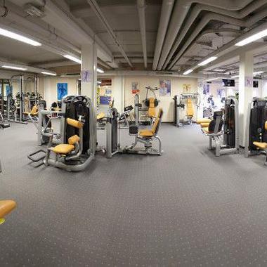 Fitness Lounge für unsere Mitarbeiter am Standort Hamburg