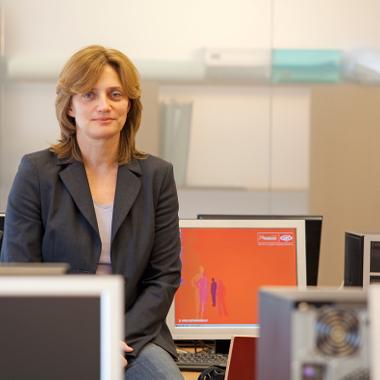 """""""Unsere Beratungsarbeit setzt dort an, wo die Stärken unserer Transitarbeitskräfte liegen."""" Jacqueline Proksch, Personalberaterin."""