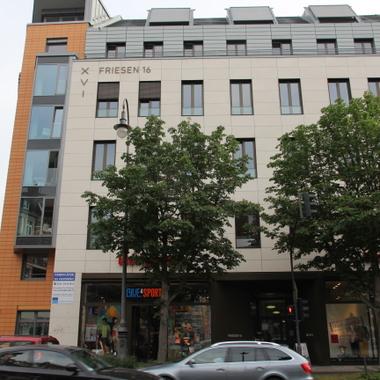 Das deutsche Pcubed Büro liegt sehr zentral in Köln und ist durch öffentliche Verkehrsmittel sehr gut zu erreichen. (Haltestelle Friesenplatz oder Bahnhof West)