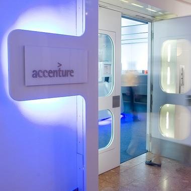 Eingang Accenture Office Wien