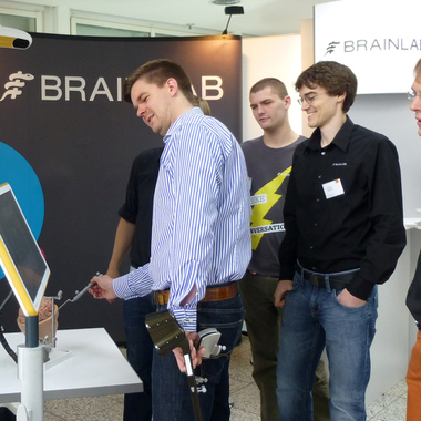 Brainlab at the IKOM Job Fair - Technical University Munich