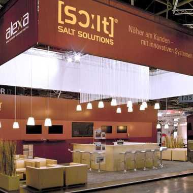Kurz vor Eröffnung der EuroCIS 2012 / Düsseldorf