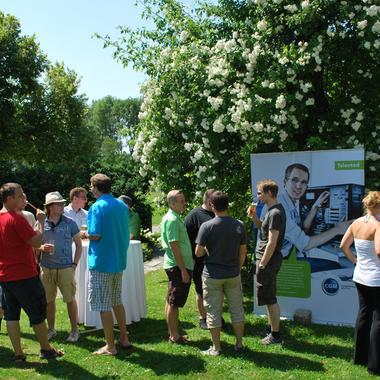 Sommerfest am Burnerhof in Ansfelden.