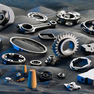 Unser pulvermetallurgisches Produktspektrum