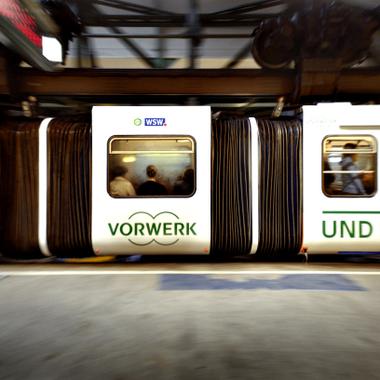 Vorwerk hängt an Wuppertal und hat an seinem Gründungsort sogar eine eigene Schwebebahn