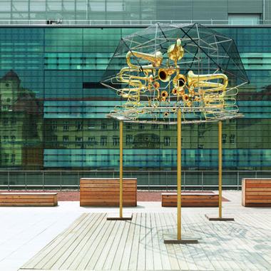 Molekularorgel am Chemieersatzgebäude der TU Graz
