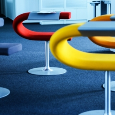 kreative Meetingstühle