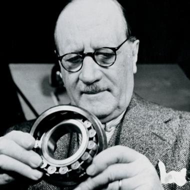 Sven Wingquist - Gründer von SKF und Erfinder des Pendelkugellagers