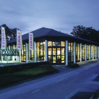 Der Technoparc in Harsewinkel ist das Ausstellungs- und Kundenzentrum von CLAAS.