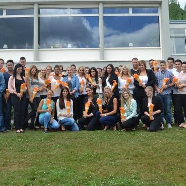 Unsere Azubis starten ihre Zeit bei Sixt mit einer Einführungsveranstaltung in Hübingen
