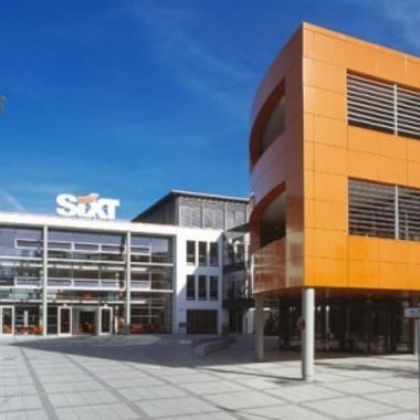 Das Sixt Headquarter in Pullach
