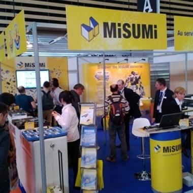 MISUMI-Kundenorientierung live: Kunden treffen und informieren