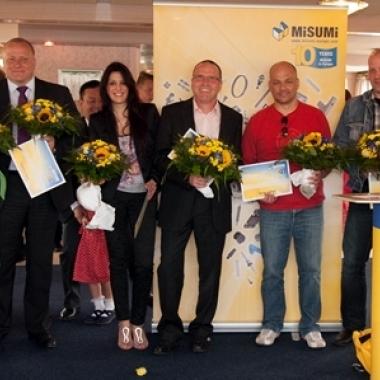 10 Jahre MISUMI Europa GmbH – feierliche Ehrung der Jubilare
