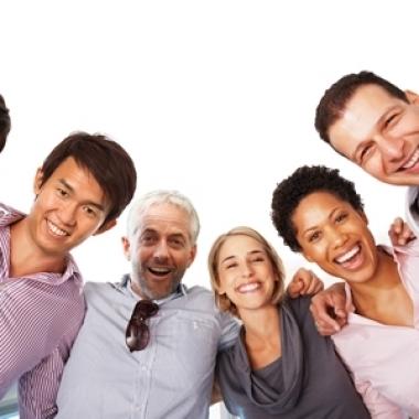 In einem multikulturellen Team Zukunft aktiv mit gestalten