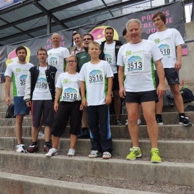 Thüringer Firmenlauf in der DKB-Arena Oberhof