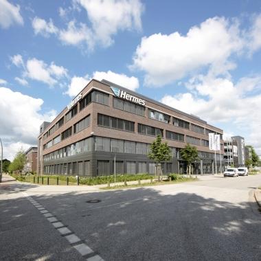 Hermes Zentrale in Hamburg