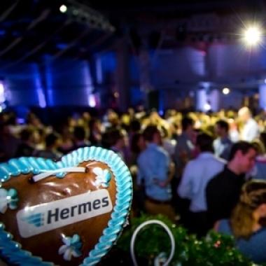 Motto Oktoberfest bei der Hermes Weihnachtsfeier 2013