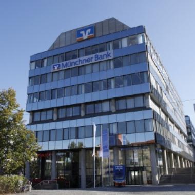 Außenansicht unseres Verwaltungsgebäudes im Forum Bogenhausen