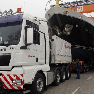 Transport zur Bootsmesse