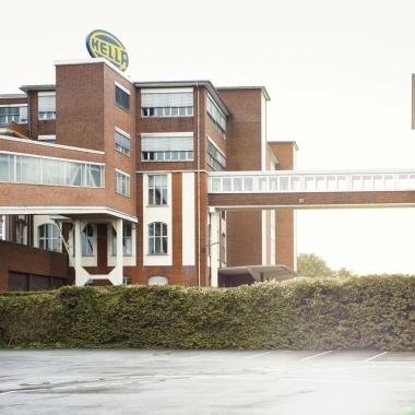 Übergang am Headquarter in Lippstadt