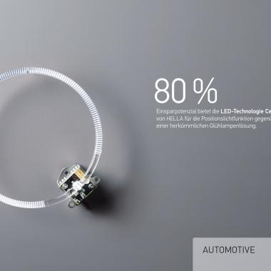 80% Einsparpotenzial bietet LED-Technologie Celis