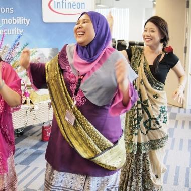 Diversity Day an unserem asiatischen Headquarter in Singapore.