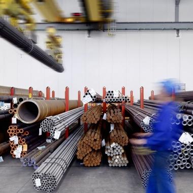 Klöckner ist der größte produzentenunabhängige Stahl- und Metalldistributor.