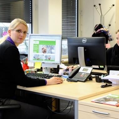 Unsere Münchener Mitarbeiterinnen bei der Arbeit :-)