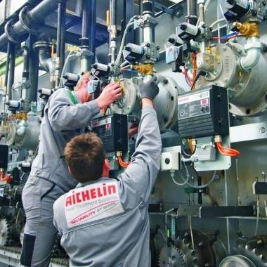 Unsere Servicetechniker leisten beim Kunden erstklassige Arbeit