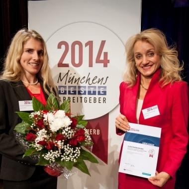 """Auszeichnung als """"Münchens beste Arbeitgeber-Marke"""""""