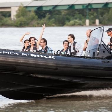 Sommerfest 2013 - Speedbootfahren