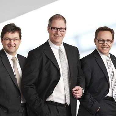 Unser Vorstand (v.l.n.r.): Markus Kurtseifer, Wilhelm Höser (Sprecher), Dr. Ralf Kölbach
