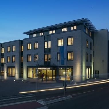 Die Westerwald Bank Zentrale in Hachenburg.