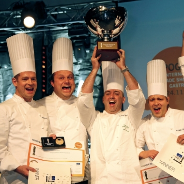 Culinary World Cup 2010 in Luxemburg, wir sind Weltmeister