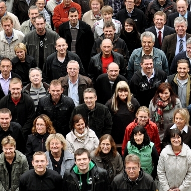 Unser wichtigste Erfolgskapital: Das Wissen und das Engagement unserer 170 Mitarbeiterinnen und Mitarbeiter.