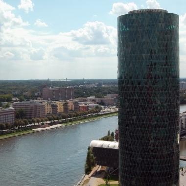 Ausblick aus dem Frankfurter Büro
